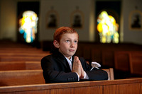 mateo first communion + confirmation